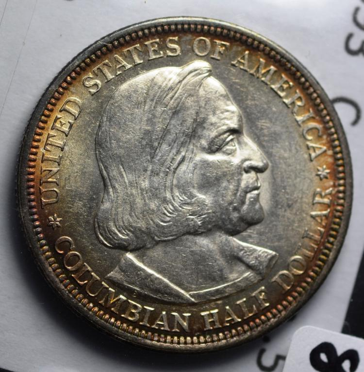 1893 Columbian Half Expo