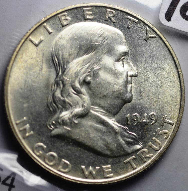 1949-D Franklin Half Dollar