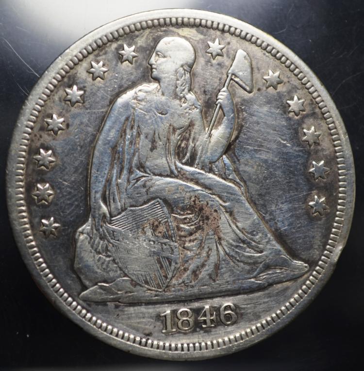 1846 Seated Liberty Dollar