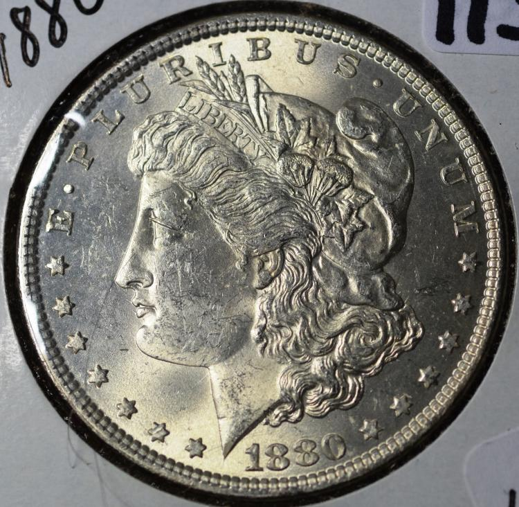 1880 Morgan Silver Dollar