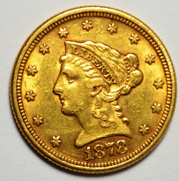 1878 $2.50 Gold Liberty