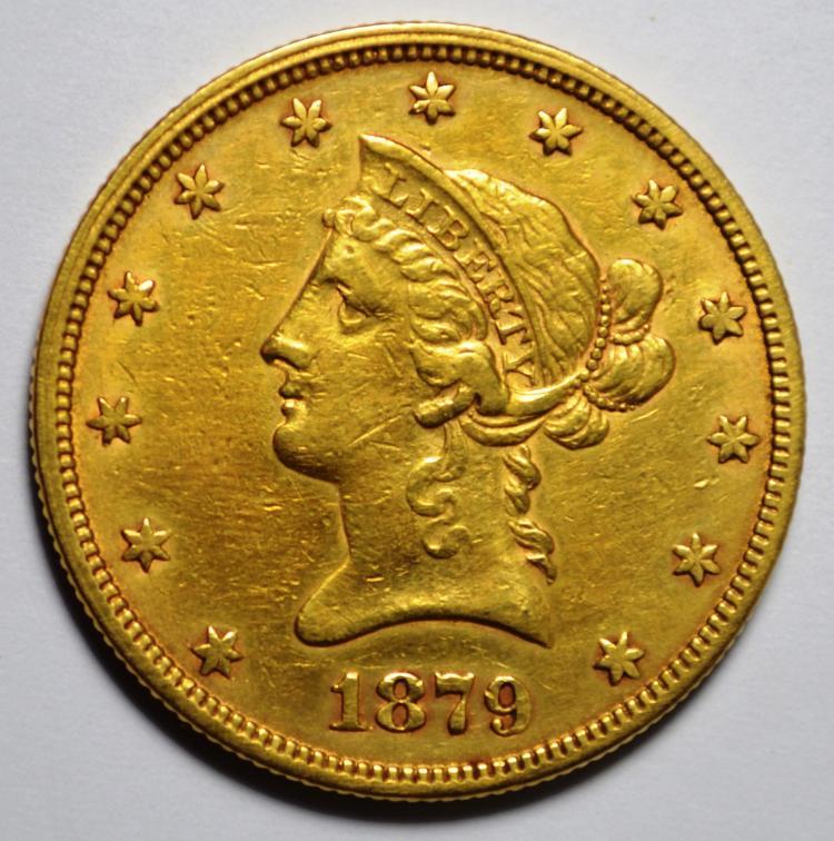 1879 $10 Gold Liberty