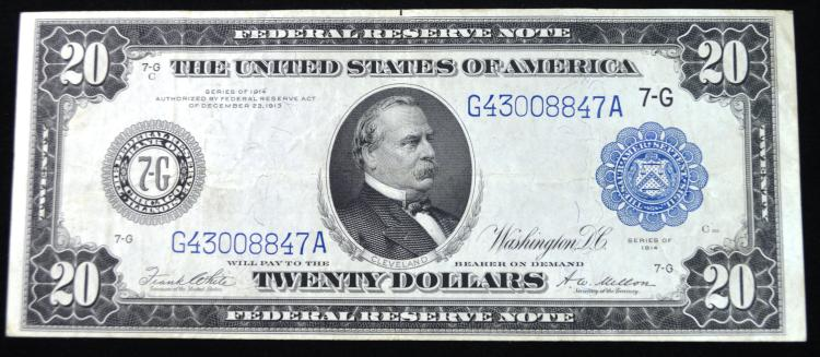 1914 $20 FRN Large Size