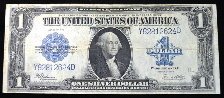 1923 $1 Large Size Silver Certificate