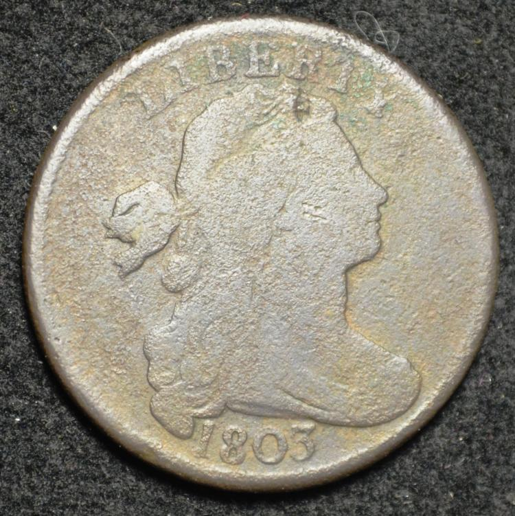 1803 Draped Bust Large Cent