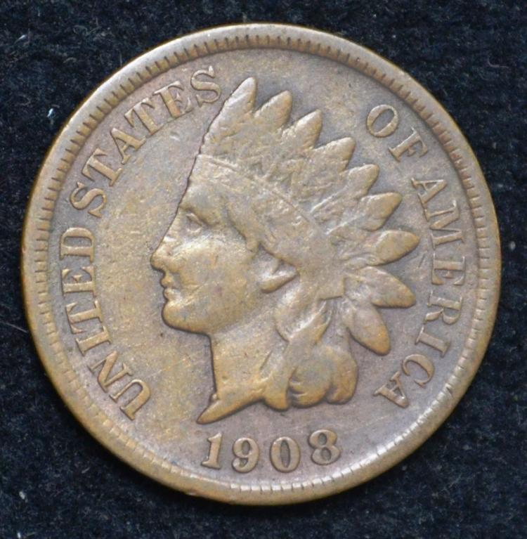 1908-S Indian Head Cent