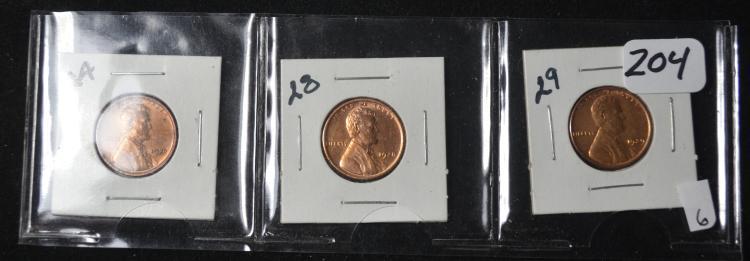 3 Lincolns 1924, 28, 29
