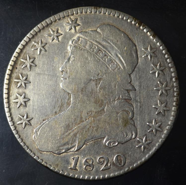 1820 Capped Bust Half Dollar