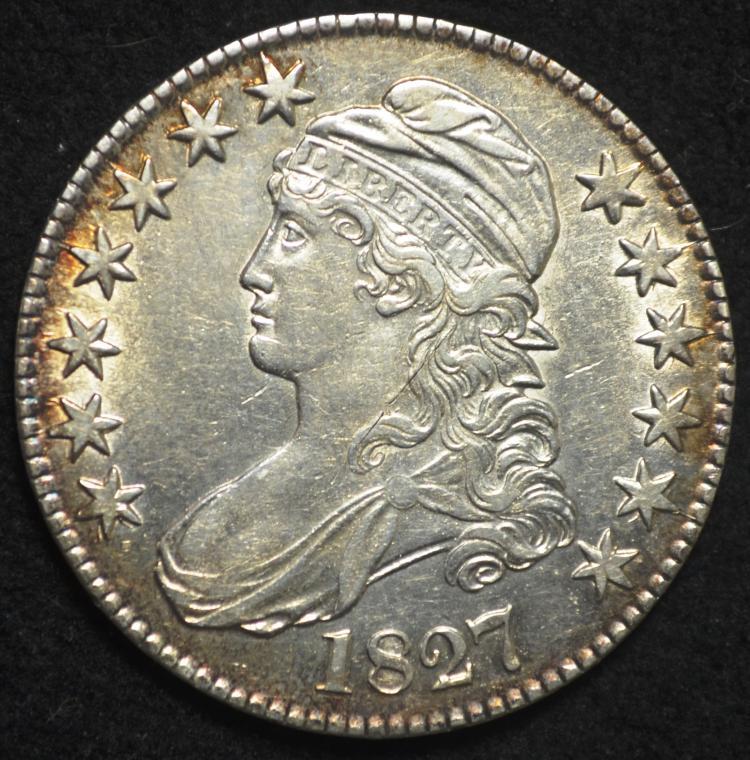 1827 Capped Bust Half Dollar