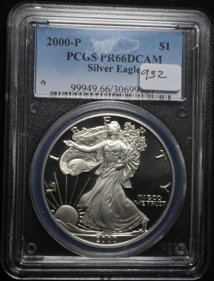 2000 Proof Eagle PR66 DCAM PCGS