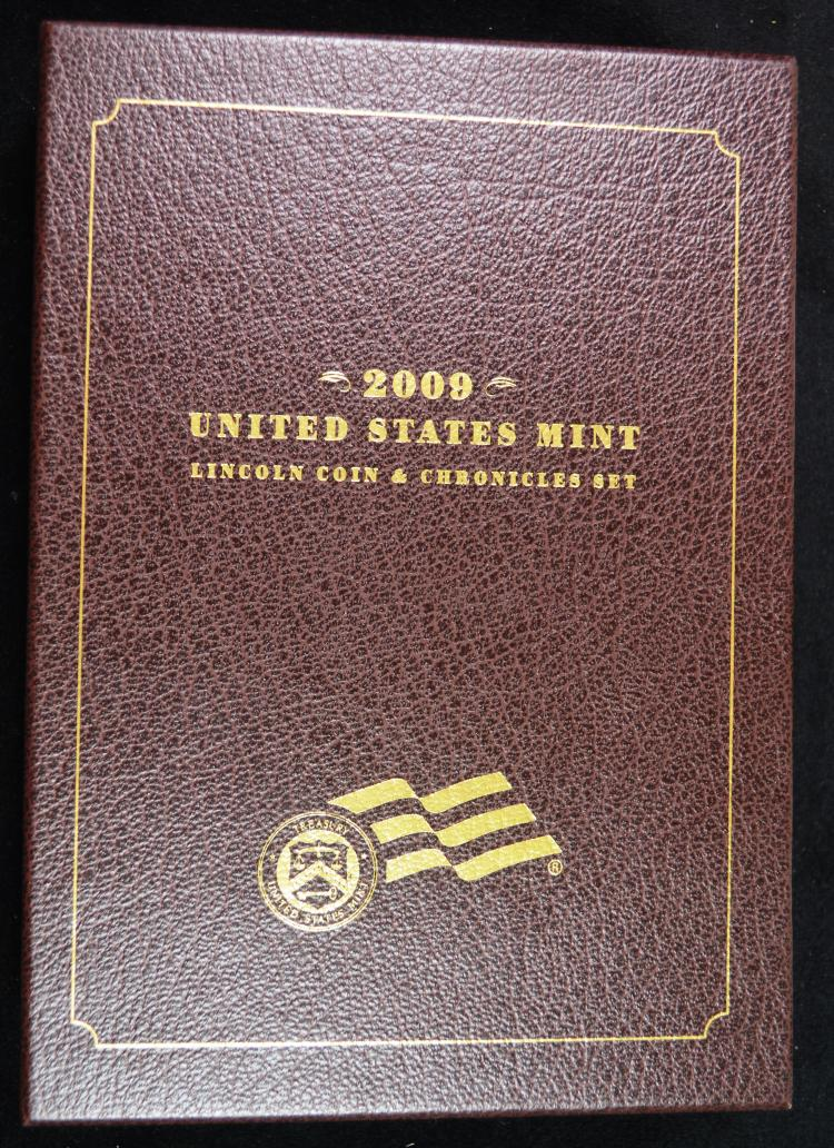 2009 Lincoln Coin & Chronicles Set