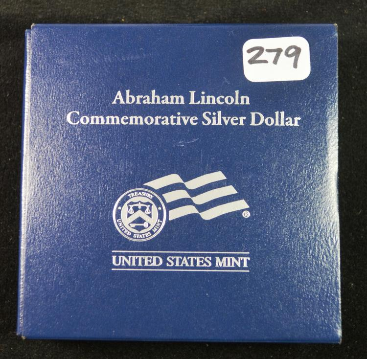 2009 Lincoln Proof Silver Commem Dollar