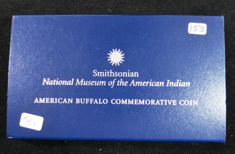 2001 Proof Buffalo Commem Dollar