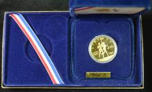 1984 $10 Olympic Gold Commem