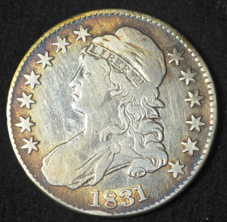 1831 Capped Bust Half Dollar