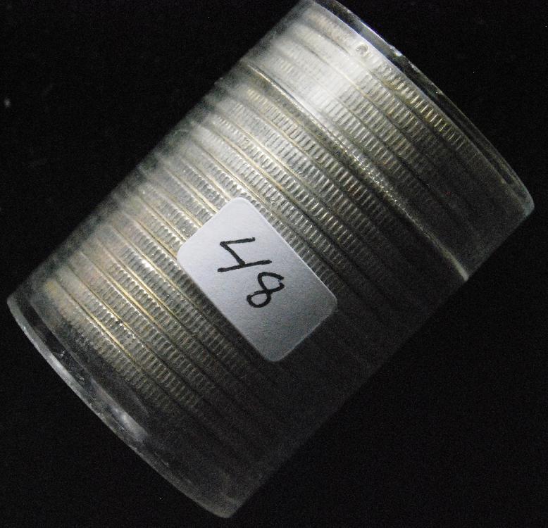 BU Roll of 1963 Franklin 90% Silver Half Dollars