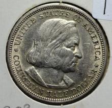 1892 Columbian Expo Silver Half Classic Commem