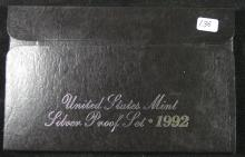 1992 Silver United States Proof Set