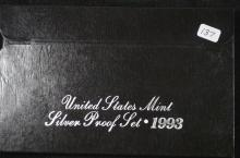 1993 Silver United States Proof Set