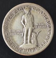 1925 Lexington Concord Classic Silver Commem