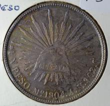 1904 Mexican Peso