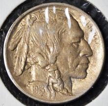 1913 Type 1 Buffalo Nickel