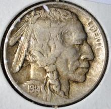1914-S Buffalo Nickel