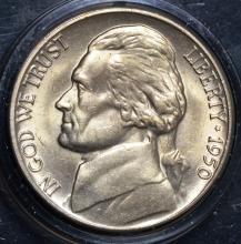 1950-D Jefferson Nickel