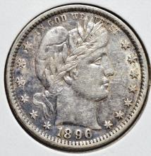 1896 Barber Quarter