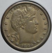 1899-O Barber Quarter