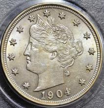 1904 Liberty Nickel