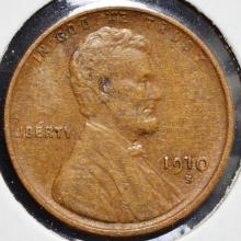 1910-S Lincoln Cent