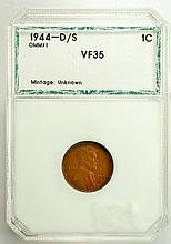 1944 D/S Lincoln Cent VF-35