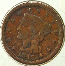 1845 US Large Cent