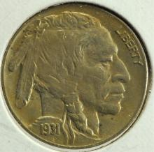 1931-S Buffalo Nickel