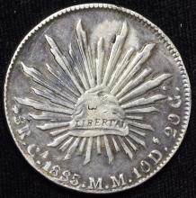 1885/6 Mexico Silver 8 Reales