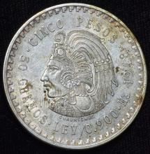 1948 Mexico Silver 5 Peso