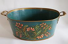 20th C. American Toleware Bucket