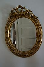 Highly Ornate Gilt Mirror