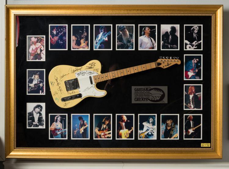 Guitar Greats Signed Lotus Guitar