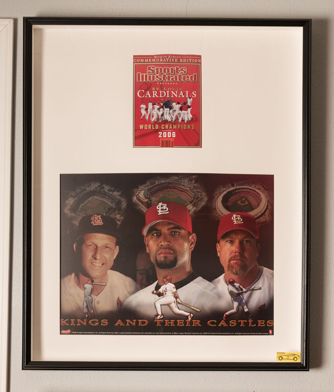 St. Louis Cardinals Commemorative Sports Illustrated Cover