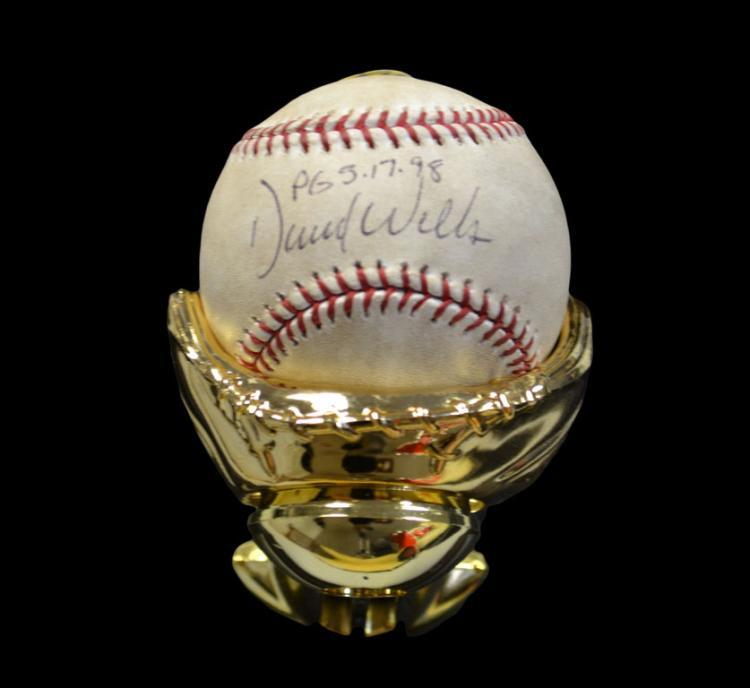 David Wells Signed Baseball
