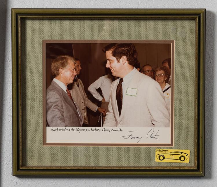Jimmy Carter Signed Photo