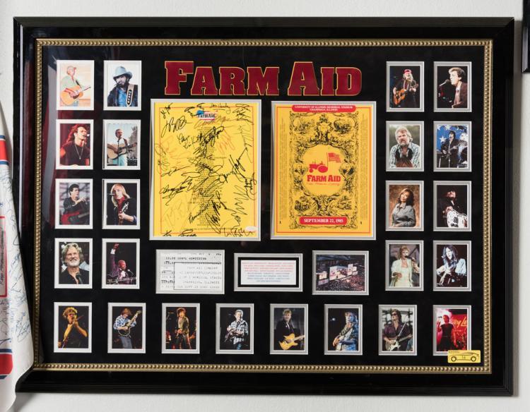 Farm Aid Signed Program