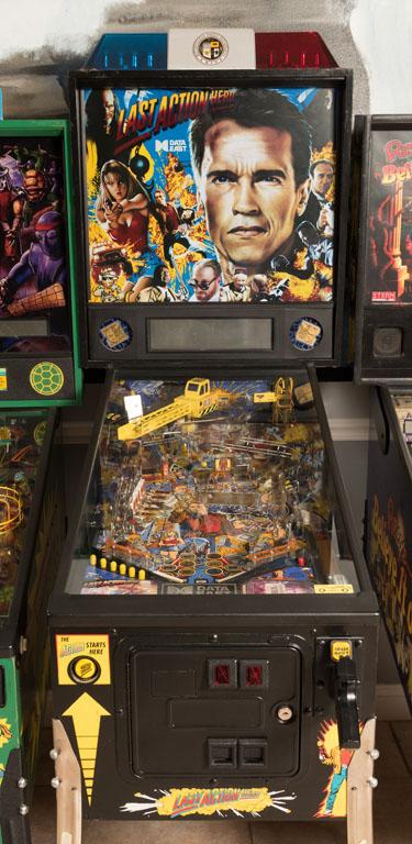 last pinball machine