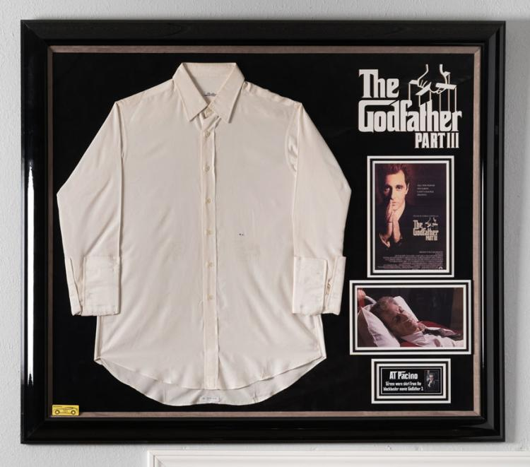 The Godfather Part III Screen-Worn Shirt