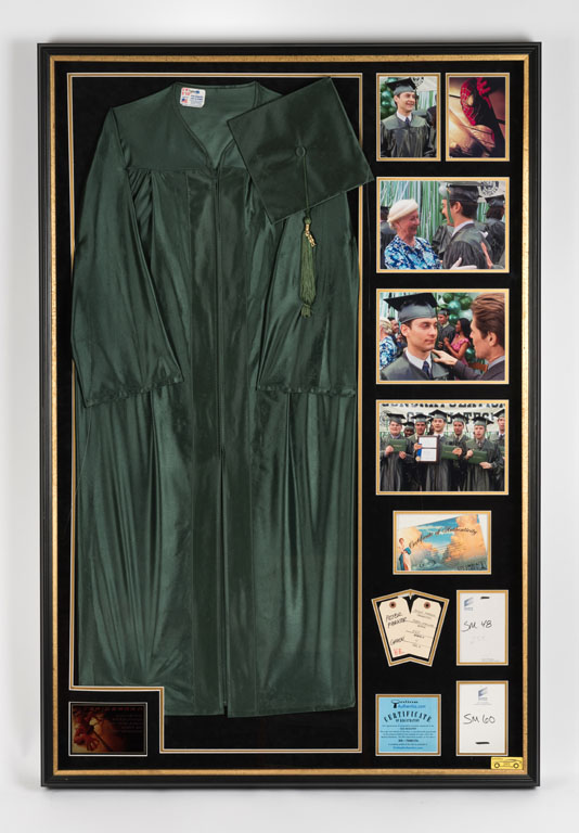 Tobey Maguire's Graduation Robes and Cap from