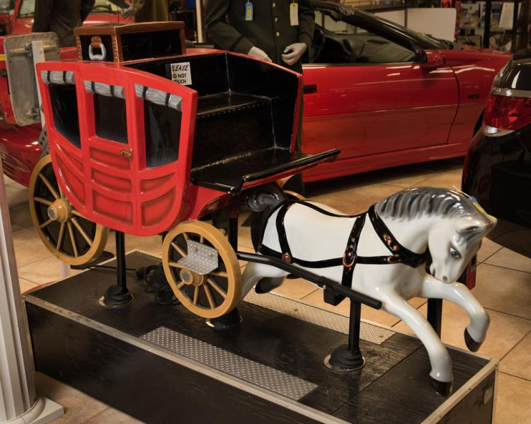 Coin-Operated Horse and Carriage