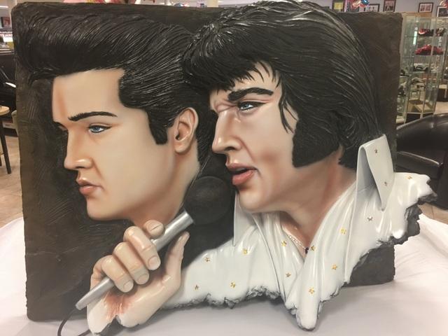 Bill Mack Bronze Elvis Presley