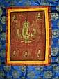 Chinese Buddhist Thangka